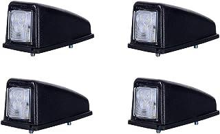 4 x 3 SMD LED Weiß Dachleuchte Begrenzungsleuchte Seitenleuchte 12V 24V mit E Prüfzeichen Positionsleuchte Auto LKW PKW KFZ Lampe Leuchte Licht Front