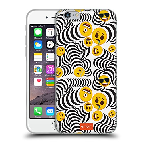 Head Case Designs Oficial Emoji Primavera Patrones 2 Carcasa de Gel de Silicona Compatible con Apple iPhone 6 / iPhone 6s