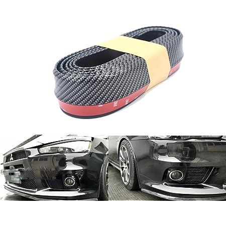 Notens Gummi Frontstoßstange Schutz Lippe Universal 2 5 Mt Auto Frontstoßstange Splitter Spoiler Gummischutz Körper Trim 8 2ft Auto