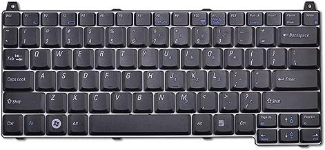 Eathtek Replacement Keyboard for Dell Vostro 2510 1310 1320 1520 1510 seres Black US Layout, Compatible Part Number J483C 0J483C