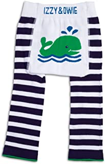 Izzy & Owie Baby Boy Leggings Whale, 6-12 Month, Blue, 6-12 M