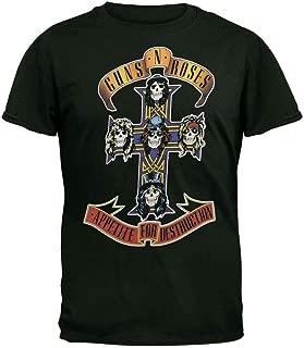 Guns N Roses - Mens Cross T-Shirt