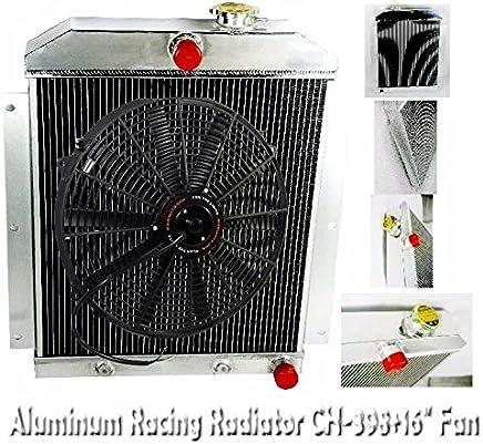 3 ROWS//CORES ALUMINUM 43 44 45 46 47 48 CHEVY ENGINE CAR SEDAN COUPE V8 RADIATOR
