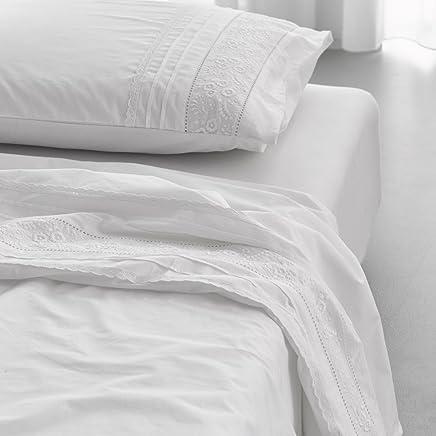 Suchergebnis Auf Amazonde Für Bettwäsche Weiß Spitze