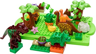 MagiDeal 40 Piece Dinosaur Paradise Building Blocks Set, Children Infants Educational Gift, Early Development for Brain
