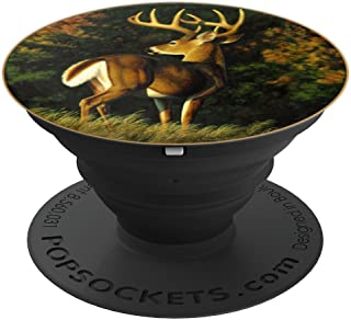 Whitetail Deer Monster Trophy Buck PopSockets Grip and Stand for Phones and Tablets