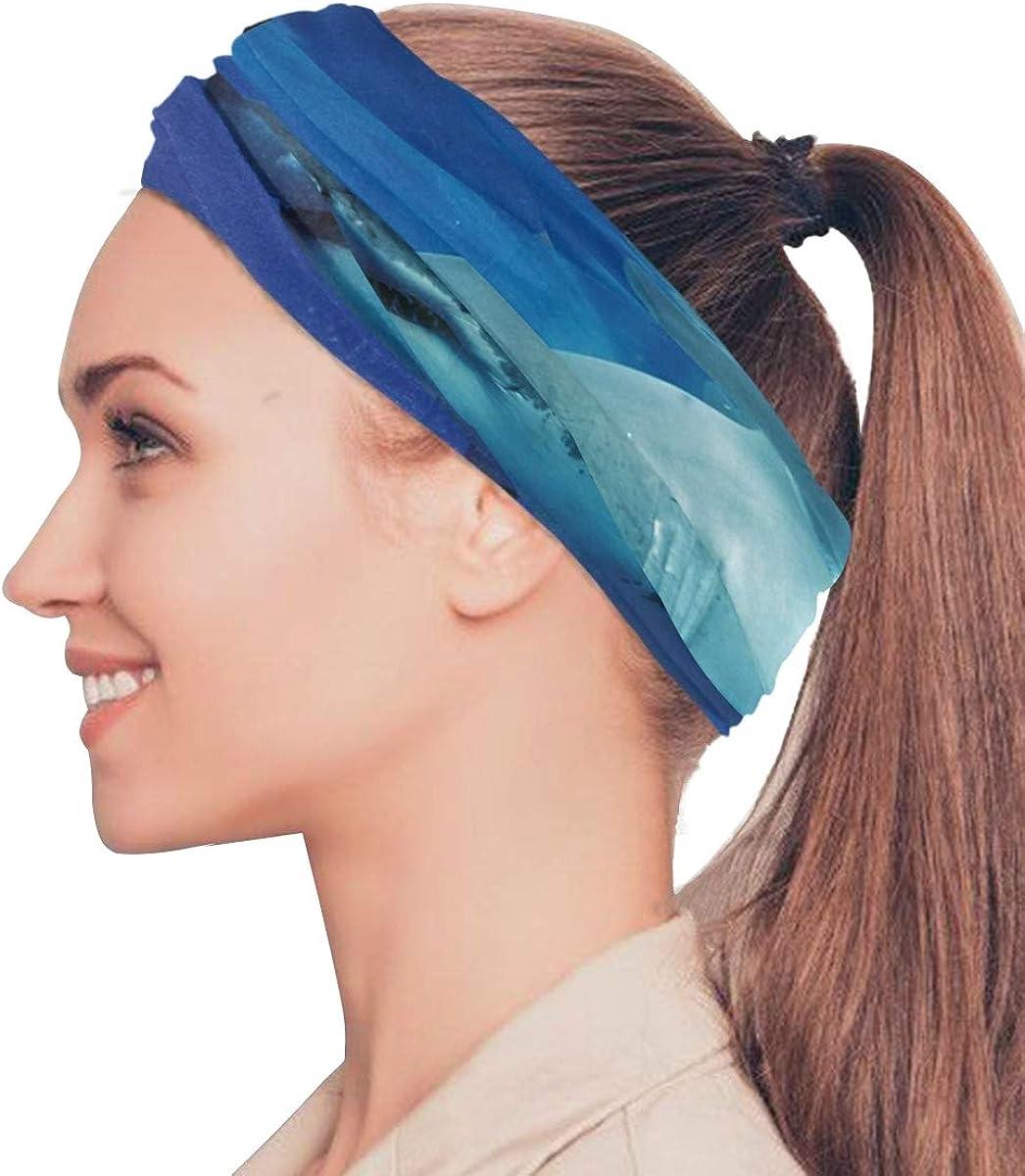 WHITE SHARK Balaclava Womens Headband Scarf Mens Versatile Bandana, Muffler, Neck Gaiter, Magic, Facemask Headwear