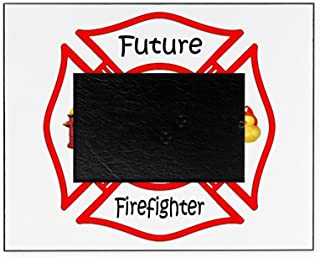 CafePress - Future Firefighter Red - Decorative 8x10 Picture Frame