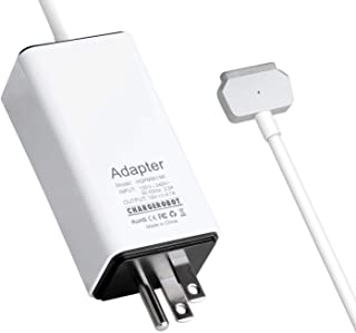 85W Charger for MacBook Pro 15-inch T-tip Retina(Mid 2012 to Mid 2015), Replacement for Magsafe 2 Power Adapter