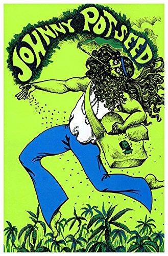 Johnny Pot Seed Poster Wall Art Grow Weed Marijuana Home Decor
