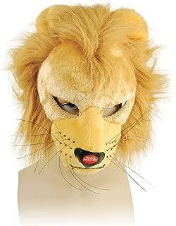 Bristol Novelty EM271 Lion Mask and Sound on Headband, Multi-Colour, One Size