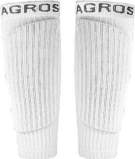 WISREMT Adult Men Leg Compression Sleeves Winter Outdoor Sports Calf Leg Warmers Football Socks