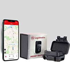 Logistimatics 4G Pocket Tracker for Vehicles, Cars, Family - Tiny GPS Tracker with 30 Second Location Updates and Real-tim...