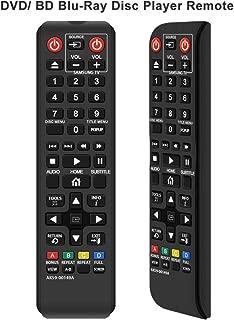 Gvirtue AK59-00149A Remote Replacement for Samsung DVD BD Blu-Ray Disc Player Remote, Applicable BDF5100/ZA BD-ES5300 BD-FM51 BD-FM57C BD-H5100 BD-H5900 BD-HM51 BD-HM59 BD-J5100 BD-J5700 BD-J5900