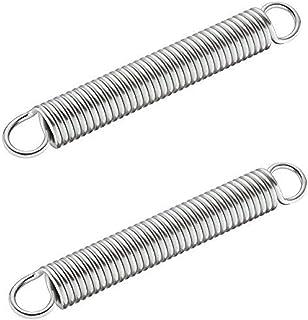 Gedotec Vervangende trekveren 150 N voor parallel-zwenkbeslag   verzinkt metaal   Lengte: 150 mm   veerØ 21 mm   dubbele h...