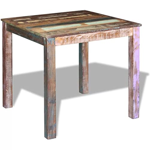 Outstanding Reclaimed Wood Kitchen And Dining Tables Amazon Com Interior Design Ideas Gentotryabchikinfo