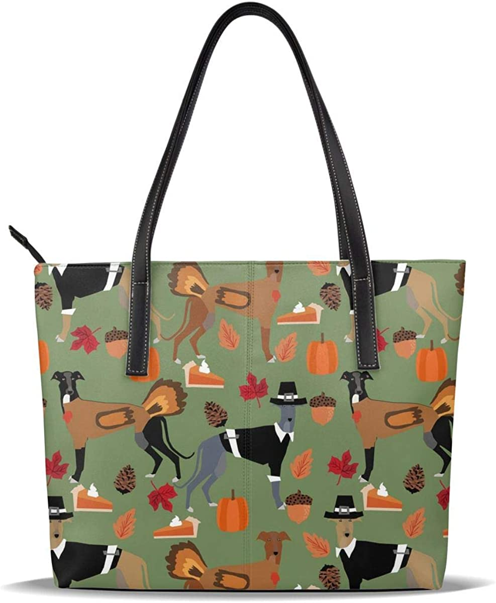 Thanksgiving Green Dog Cute Kansas Manufacturer OFFicial shop City Mall Pumpkin Leather C Printed PU Pattern