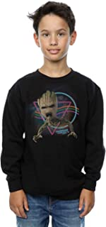 Marvel niños Guardians of the Galaxy Neon Groot Camisa De Entrenamiento