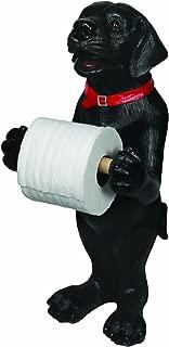 River's Edge Black Lab Standing Toilet Paper Holder