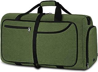 NEWHEY Reisetasche Groß 40L 65L 80L Faltbare Reisetaschen Leichte Sporttasche für männer mit Schuhfach für Weekender Herren Damen Duffel Taschen