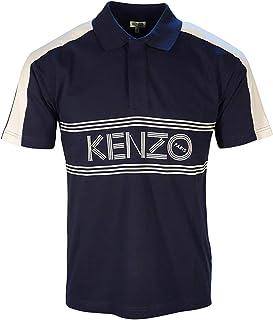 Kenzo Polo Panel Paris Logo Front 5PO038 4BD