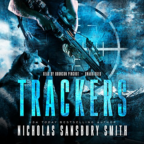 Trackers audiobook cover art