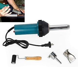 Pistola de aire caliente portátil, Pistola de soldadura de plástico Kit de soldador cian de