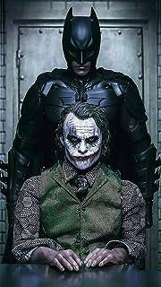 Bharat Udyog The Dark Knight Poster - Batman And Joker Movie Wall Sticker 300 Gsm Art Card Paper Print Artwork Printed (13...