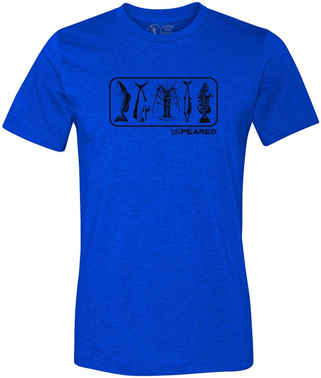 Speared Spearfishing T-Shirt Vintage Lobster Mahi Ranking TOP11 Snapper Ma Memphis Mall