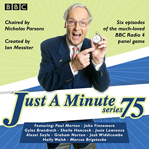 Just a Minute: Series 75 cover art