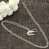 Nuova collana di moda gamberetti gamberetti crostacei 28x15mm argento colore pendenti corti lunghi uomini donne colar gioielli regalo girocollo