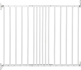 comprar comparacion BabyDan Multidan–Barrera de seguridad extensible de metal (color blanco)