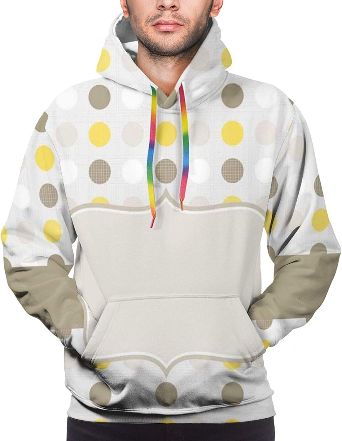Men's Hoodies Sweatshirts,ABC of Athleticism Theme Letter Y with Different Balls with Realistic Look