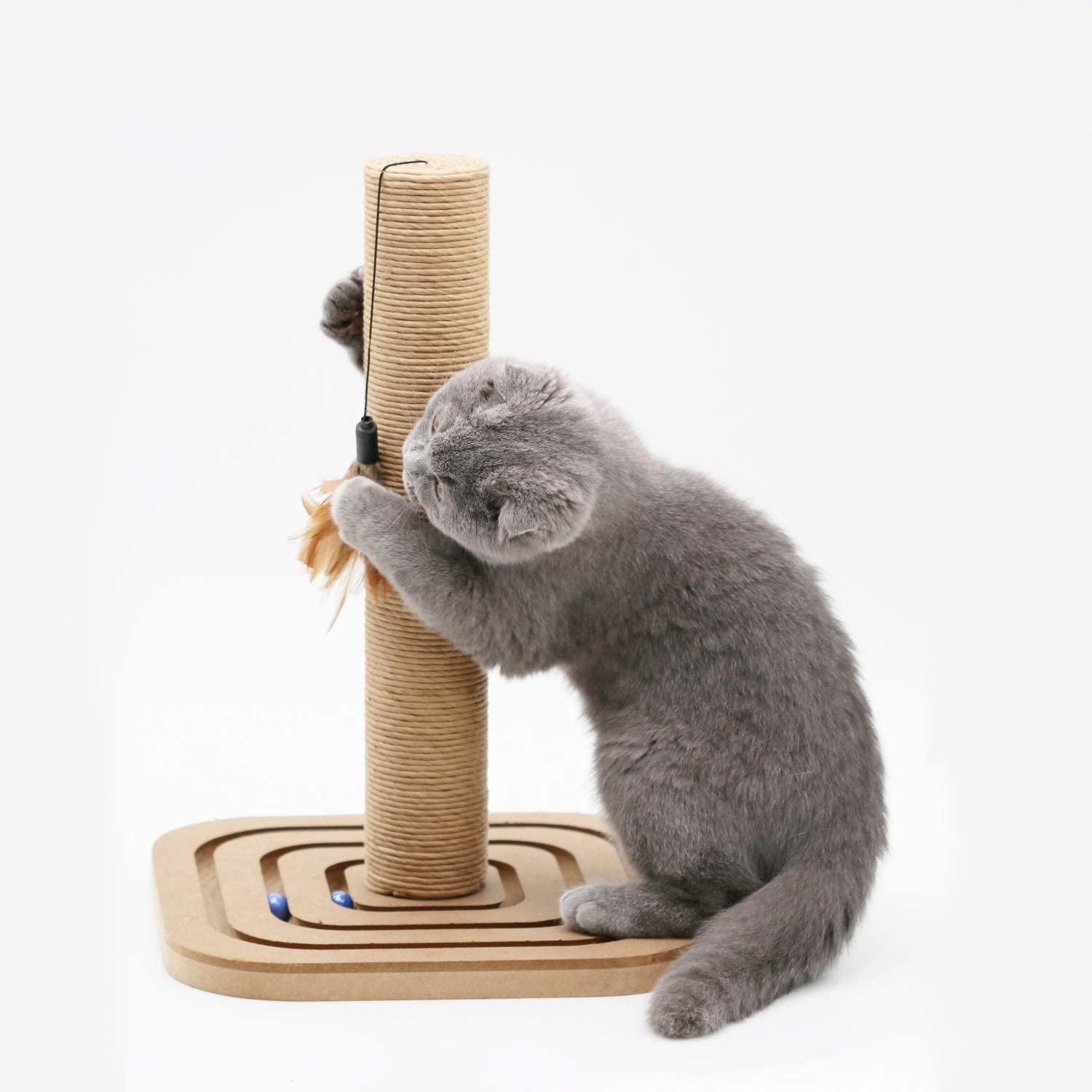 Purrrfect life PL16014B Cat Scratcher Post with Toy