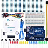 Elegoo Progetto Starter Kit Basic per Principianti con Tutorial in Italiano Learning Kit di Apprendimento Compatibile con Arduino IDE