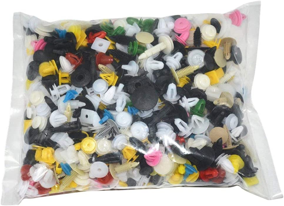 itchoate Super Special SALE held 500PCS Mixed Auto Car Vehicle Clips Online limited product Bumper Ret Fastener