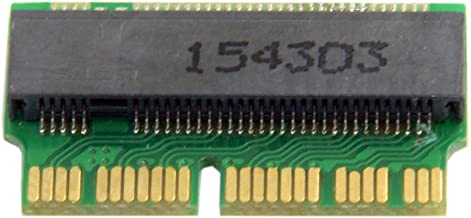 Cablecc 12+16pin 2014 2015 Macbook to M.2 NGFF M-Key SSD Convert Card for A1493 A1502 A1465 A1466