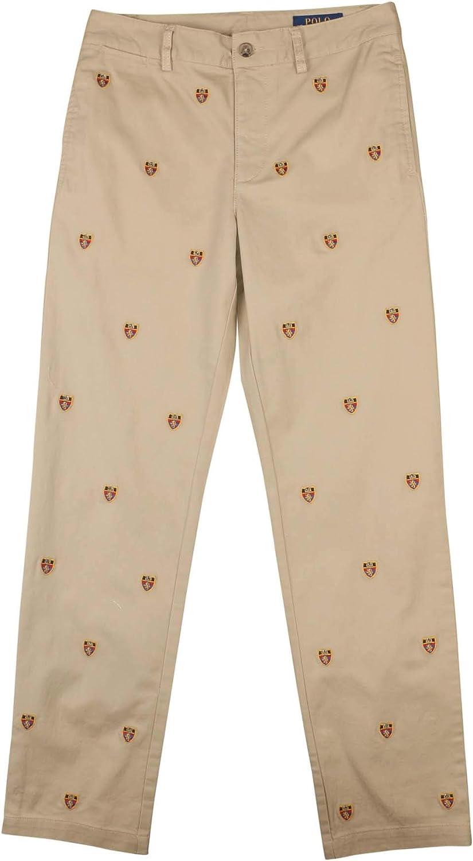 Polo RL Big Boys (8-20) Embroidered Shield Chino Pants