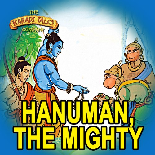 Hanuman, the Mighty audiobook cover art