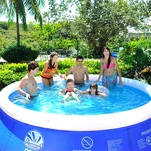 Sommer Big Swimming Pool Clip Net Dick Super Pad Pool Home Aufblasbare Badewanne Kinder Badewanne Outdoor für Kinder Spielzeug Geschenke, 360 * 76cm Kinder Aufblasbares Poolspielzeug