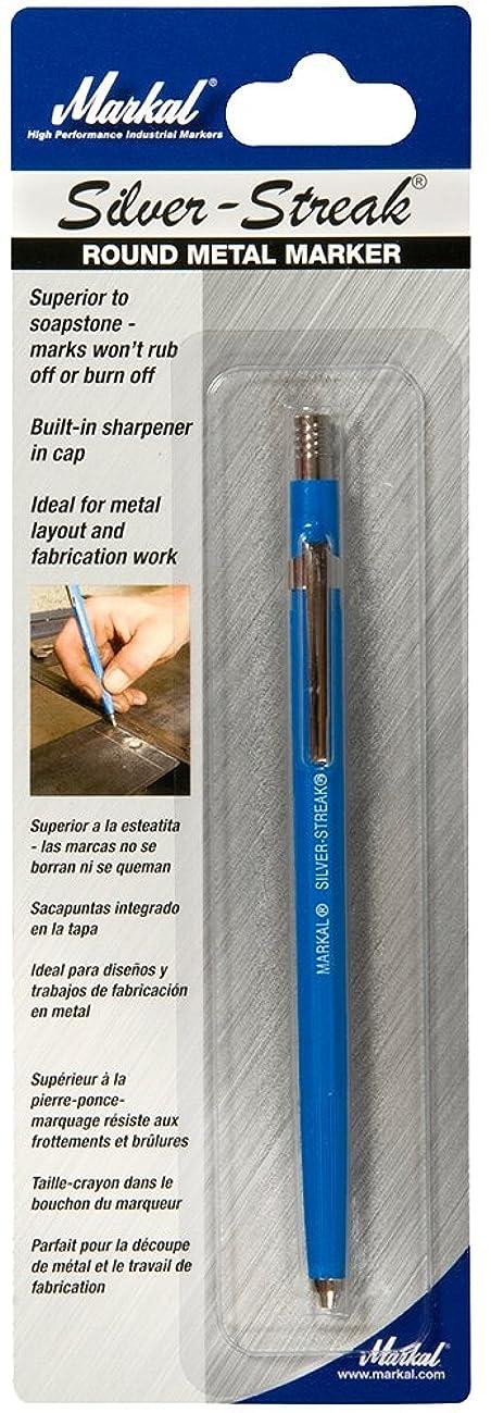 Markal 96006 Silver-Streak Metal Marker Round, Silver