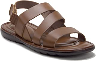cbb13cc0dff J aime Aldo Men s 68732 Comfort Leather Gladiator Open Toe Sling Back  Sandals