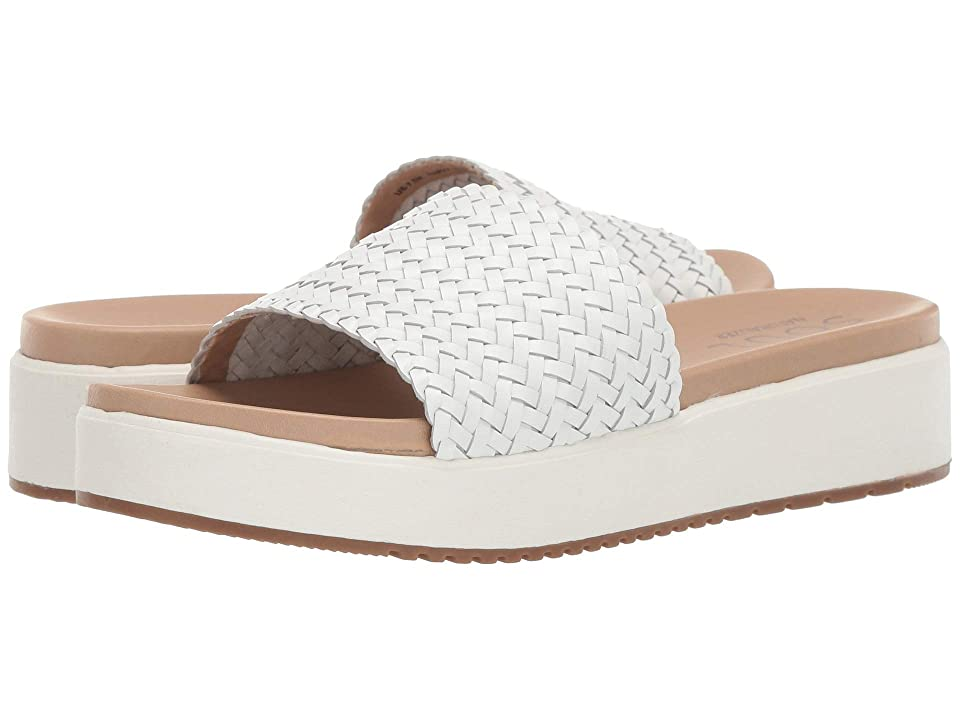 SOUL Naturalizer Happy (White Leather) Women