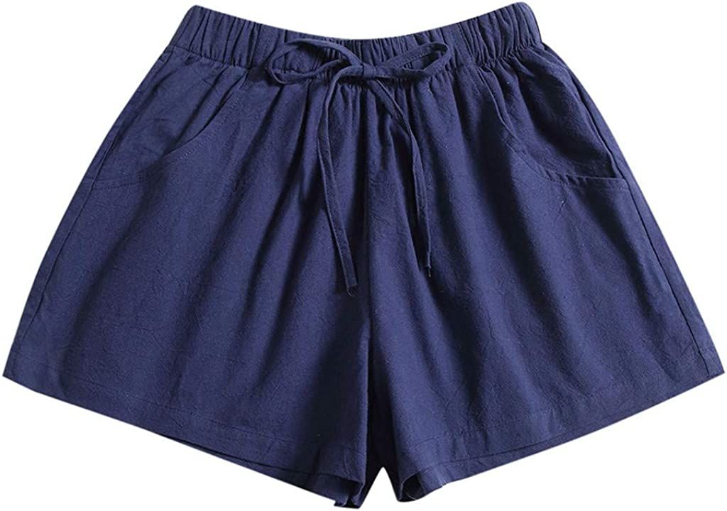 AZEWO Sports Shorts Women Max 56% OFF Summer Popular overseas New Skin Drawstring Candy Color