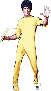 Advanced Graphics Bruce Lee Yellow Jumpsuit Life Size Cardboard Cutout Standup