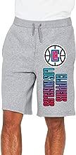 Men's Los Angeles Clippers Logo Cotton Short Athletic Pants