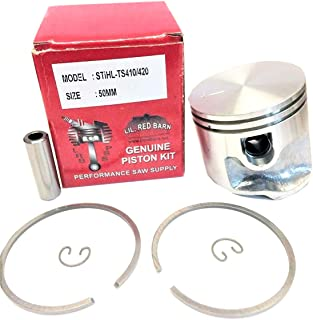 Lil Red Barn Stihl TS410/TS420 Concrete Saw Piston Kit 50mm, Replaces Stihl Part # 4238-030-2003 Two Day Standard Shipping to All 50 States!