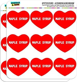 Graphics and More I Love Heart Maple Syrup Planner Calendar Scrapbooking Crafting Stickers - 18 2