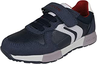GEOX J Alfier B Boys Leather Casual Sneakers/Shoes