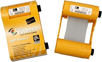 Zebra 800033-348 YMCKOK High-Capacity Color Ribbon for ZXP Series 3 Card Printers (Replaces 800033-848) - 230 Prints